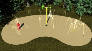 Commercial Splash Pad Designs
