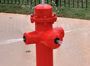 Fire Hydrants - Water Play Feature 3
