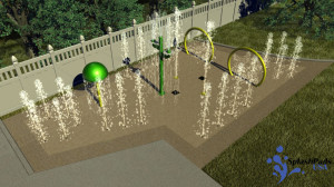 Residential Designs   Custom Designs - Splash Pads USA ...