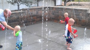 Residential Splash Pad Gallery - Splash Pads USA